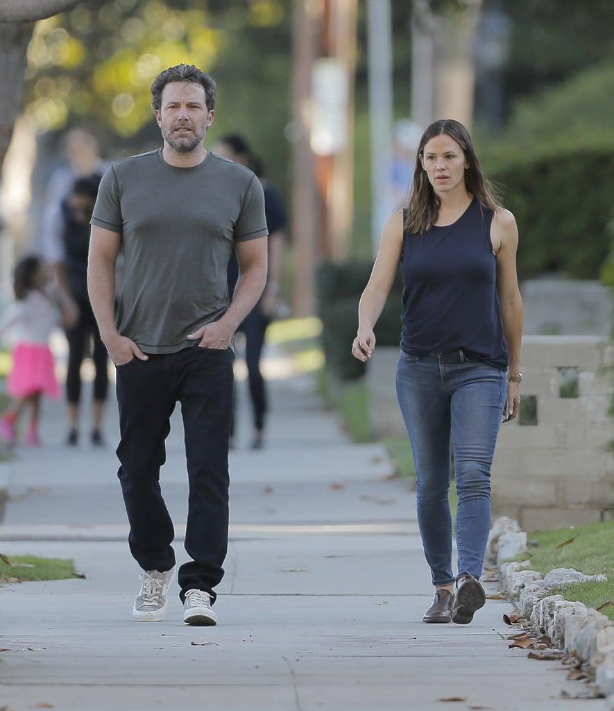 Ben Affleck and Jennifer Garner in Santa Monica Sept. 2016 ...
