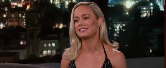 Brie Larson Talks to Jimmy Kimmel About Captain Marvel Video