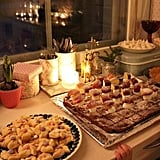 Bake holiday treats for your loved ones by candlelight.