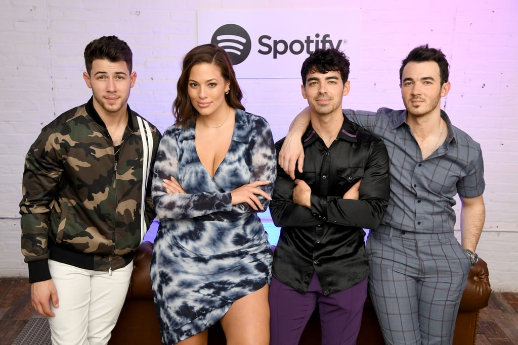 Ashley Graham With the Jonas Brothers