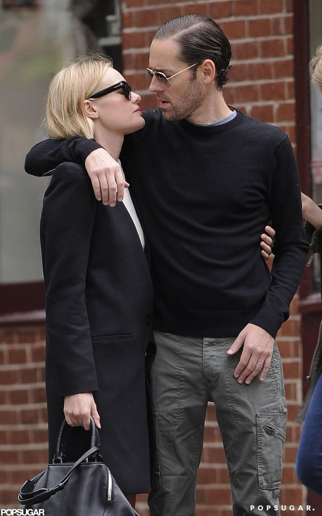 Kate Bosworth and boyfriend Michael Polish showed their affection strolling through the West Village in NYC.