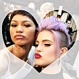 Kelly Osbourne was for real when she mentioned her friendship with Zendaya in the midst of the Fashion Police controversy. This picture was snapped on Valentine's Day 2015, several days before Giuliana Rancic's comments about Zendaya's hair at the Oscars.