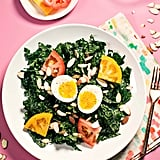 Kale, Miso, and Soft Egg Breakfast Salad