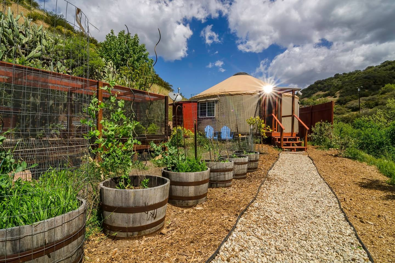 Malibu Farm Yurt On Airbnb Popsugar Smart Living