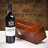 Taylor's Late Bottled Vintage Port in Personalised Premium Wood Gift Box