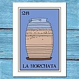 Horchata Lotería Print