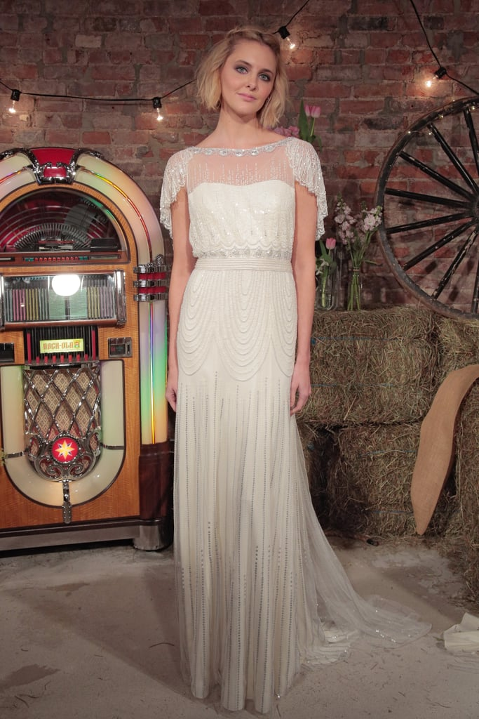 1920s Flapper Style Wedding Dresses By Jenny Packham Popsugar