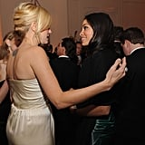 Malin Akerman chatted with Rosario Dawson.