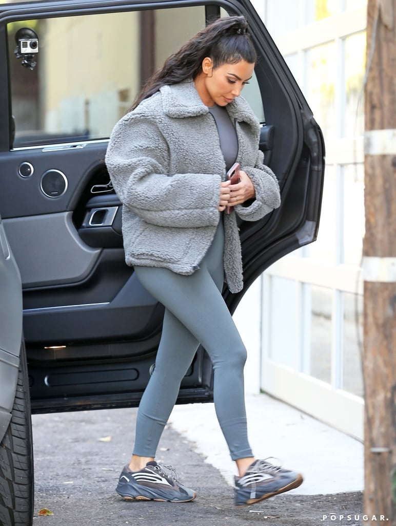 huge discount 234c4 f0c81 Kim Kardashian Yeezy Boost 700 Sneakers | POPSUGAR Fashion