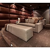 We're guessing family movie nights will be held often in this state-of-the-art home theater.