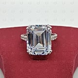 Honeyhjewelry Emerald-Cut Engagement Ring