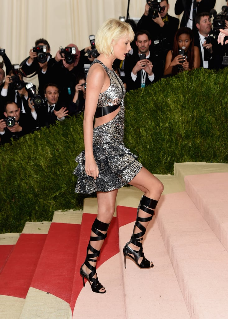 Taylor Swift At The 2016 Met Gala Photos Popsugar