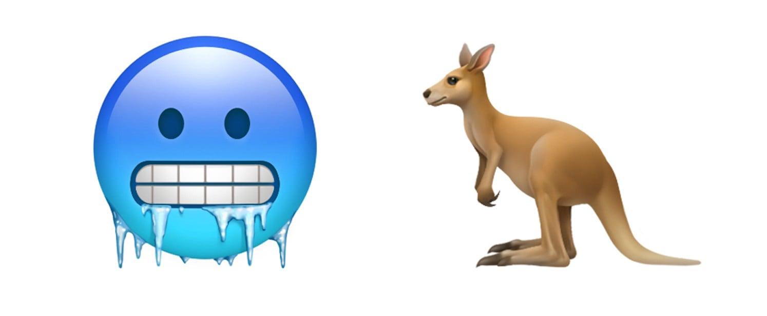 New Emoji on Apple iOS 12.1 Update