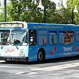 Take park shuttles to save on parking.