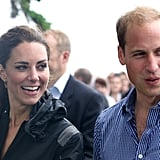 Prince William Hugs Kate Middleton After Besting Her in a Friendly Dragon Boat Race!