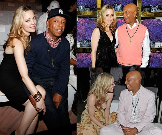 Pictures of Celebrity Couple Melissa George and Russell Simmons