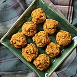 Pumpkin Cornbread Drop Biscuits