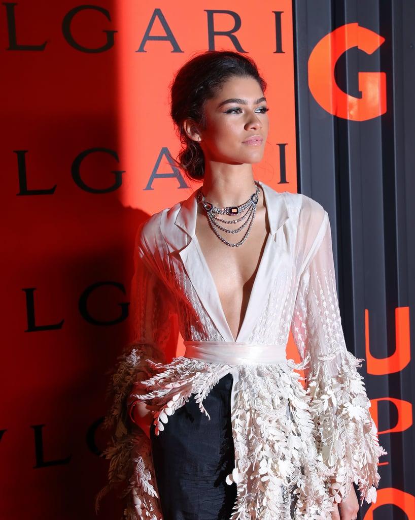 Zendaya at the Bulgari B.zero1 Rock Collection Party