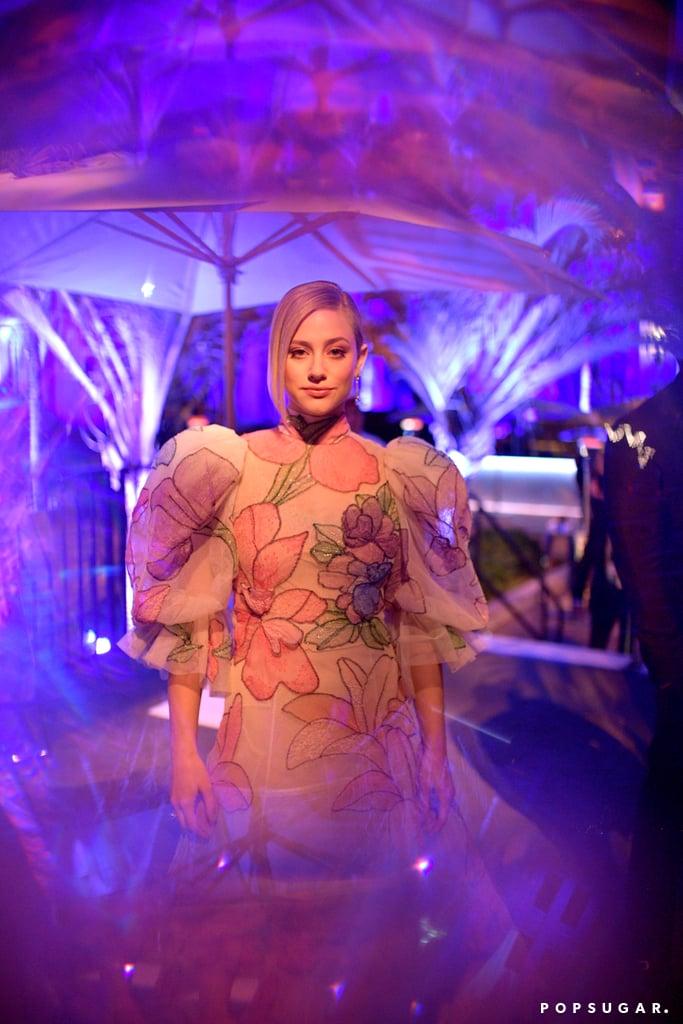 Lili Reinhart at the Vanity Fair Oscars Party 2020
