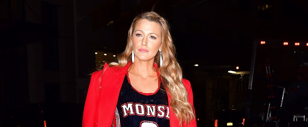 Only Blake Lively Could Wear a Jersey to a Movie Premiere and Look Like a Total Superstar