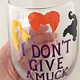 Hocus Pocus Inspired Wine Glass