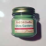 Shire Gardens candle ($14) with basil and freshly plucked lavender notes