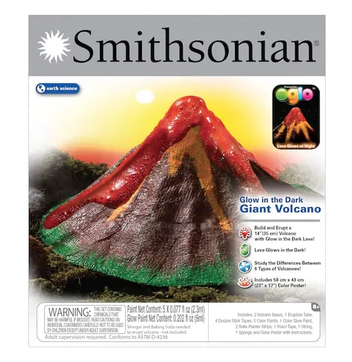 Glow-in-the-Dark Volcano Kit
