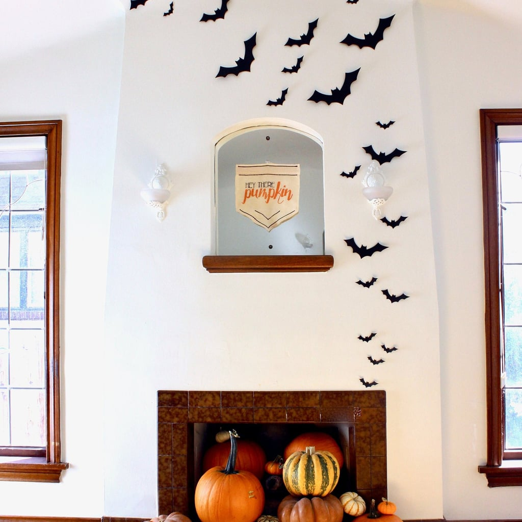 Black Bat Wall Decor