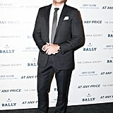 Zac Efron wore Balenciaga at The Cinema Society and HRC's At Any Price screening in New York. Source: Matteo Prandoni/BFAnyc.com