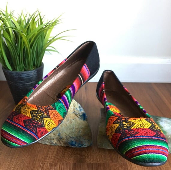 Inca Ballerina Handmade Shoes