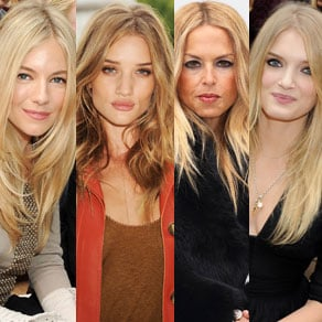 Celebrity Fall Hair Trends Sienna Miller, Rosie Huntington-Whiteley, Lily Donaldson, Rachel Zoe, Donna Air, and Poppy Delevigne