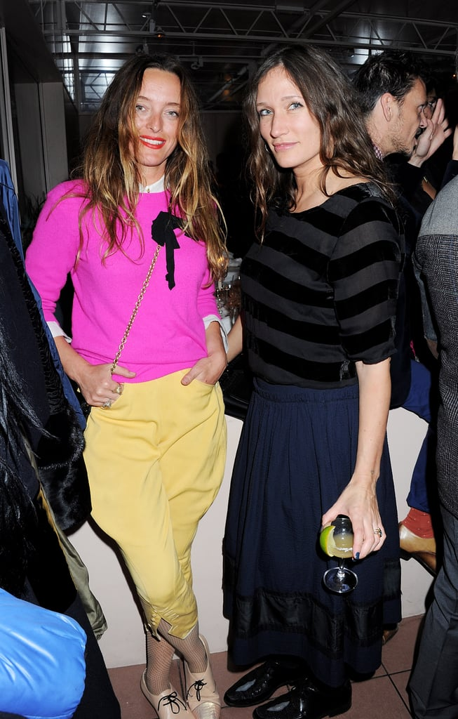 Alice Temperley and Lulu Kennedy