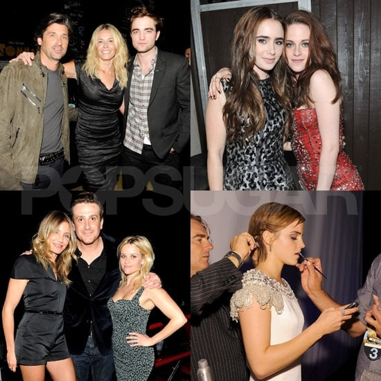 Kristen Stewart, Robert Pattinson, and More Photos From Backstage at the MTV Movie Awards