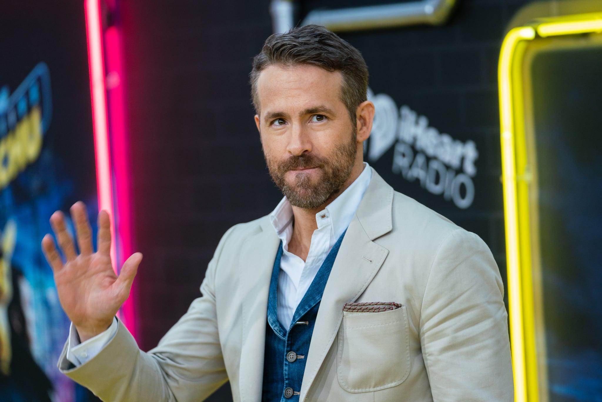 NEW YORK, NEW YORK - MAY 02: Ryan Reynolds attends the