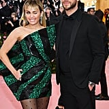 Miley Cyrus and Liam Hemsworth at the 2019 Met Gala