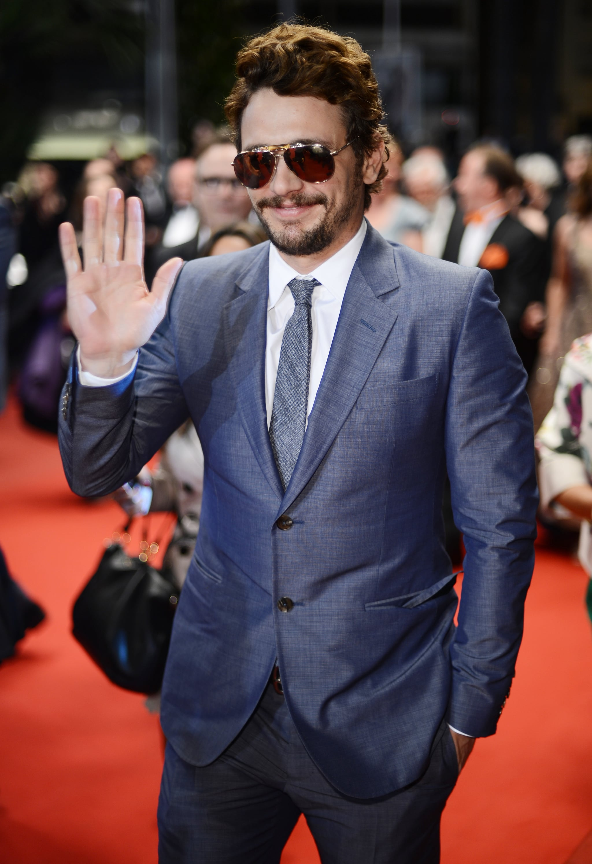 James Franco kept his shades on for the evening premiere of Borgman in 2013.