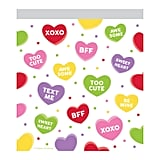 10ct Candy Hearts Favor Bag