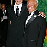 In October 2004, he posed for a picture with Giorgio Armani.