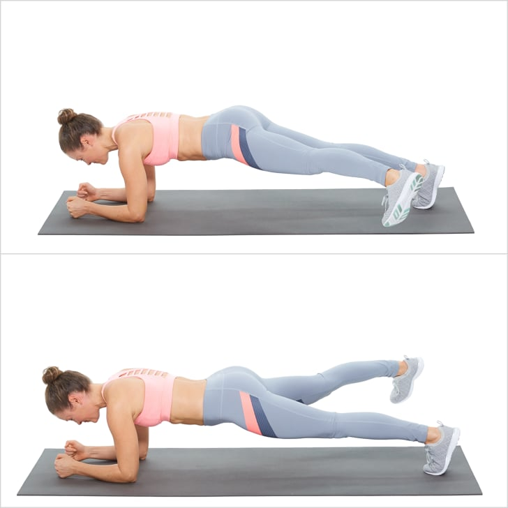 Elbow Plank With Side Step Plank Challenge Workout