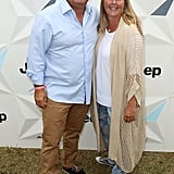 Gary Mehigan has his lovely wife Mandy as his date.