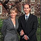 Prince Edward and Sophie Rhys-Jones Engagement Announcement, January 1999