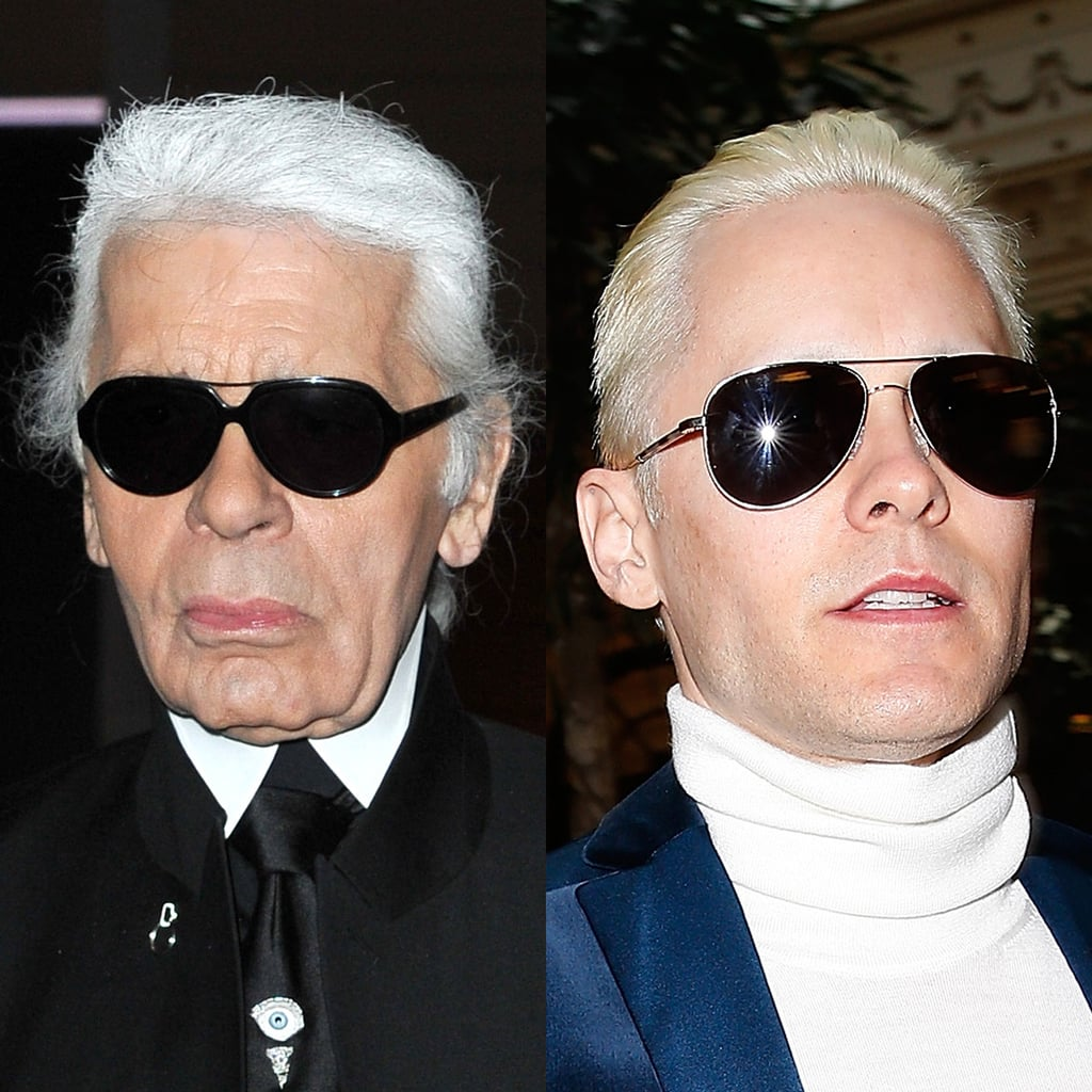 Karl Lagerfeld and Jared Leto
