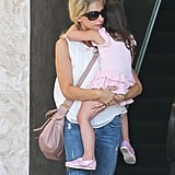 Sarah Michelle Gellar picked her daughter up from ballet class in LA.
