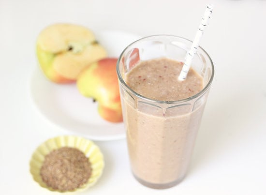 Overnight Apple and Flax Smoothie