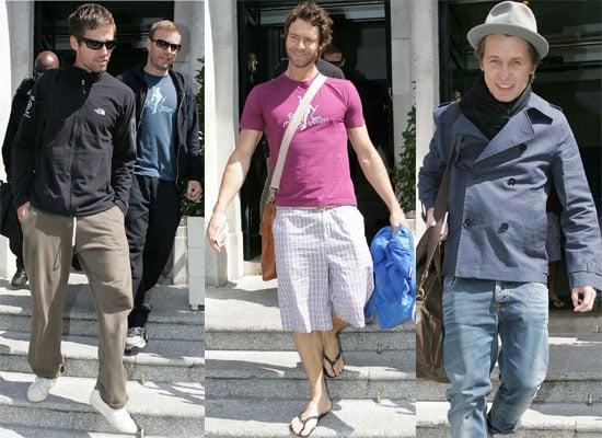 Photos Of Take That - Gary Barlow, Mark Owen, Jason Orange, Howard Donald - Outside Their Dublin Hotel, Video Of Jonathan Ross