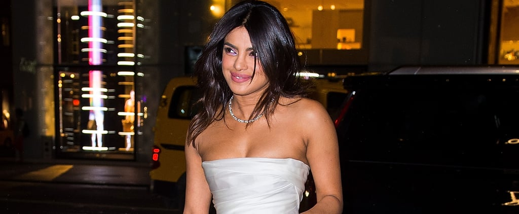 Priyanka Chopra Bridal Shower Dress Marchesa 2018