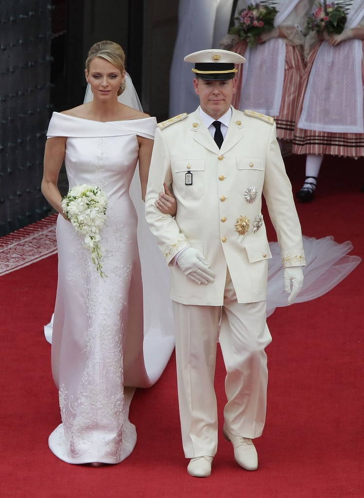 charlene wittstock and prince albert are married