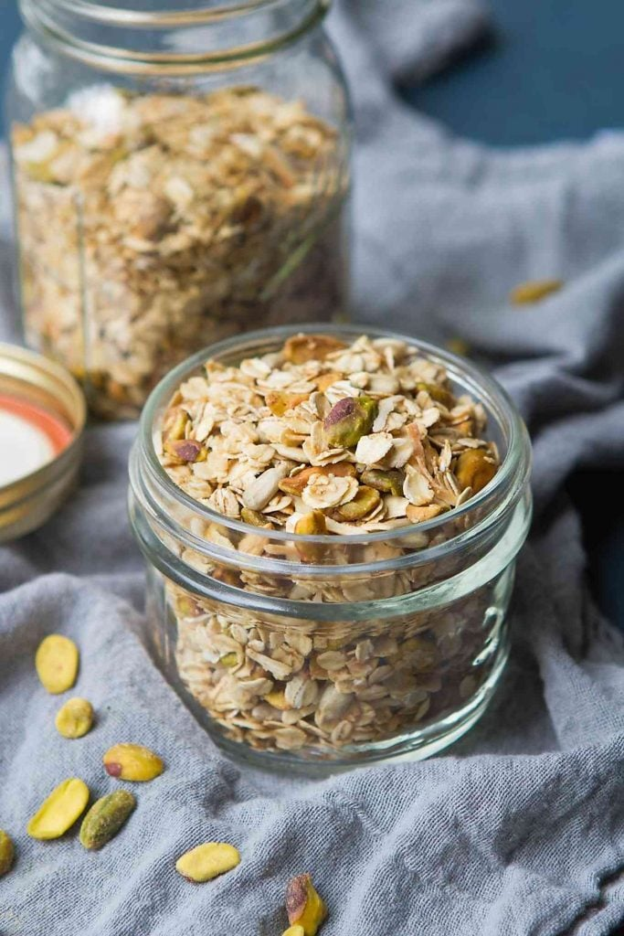 Maple Pistachio Granola