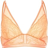 River Island Coral Mesh Lace Triangle Bralet  (£16)