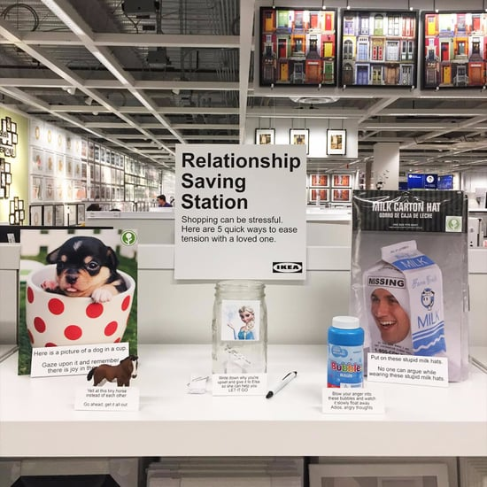 Ikea Relationship-Saving Station